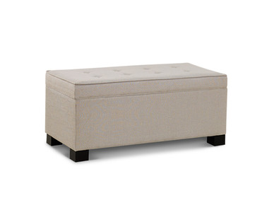 SOHL Furniture Tufted Storage Chest View 1
