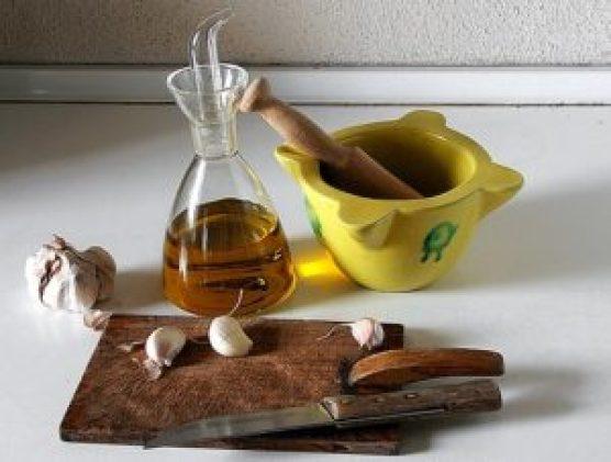 El aceite de oliva y ajo para el hígado