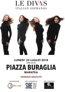 Le Div4s Italian Sopranos a Le Giornate del Cinema Lucano a Maratea – Premio Internazionale Basilicata