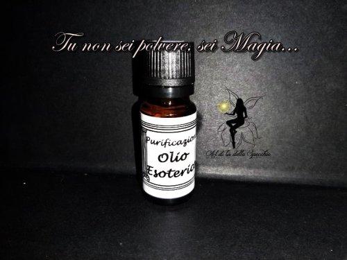 olio esoterico di purificazione