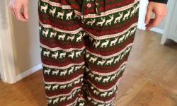 Mens and Ladies Holiday Pajama Pant