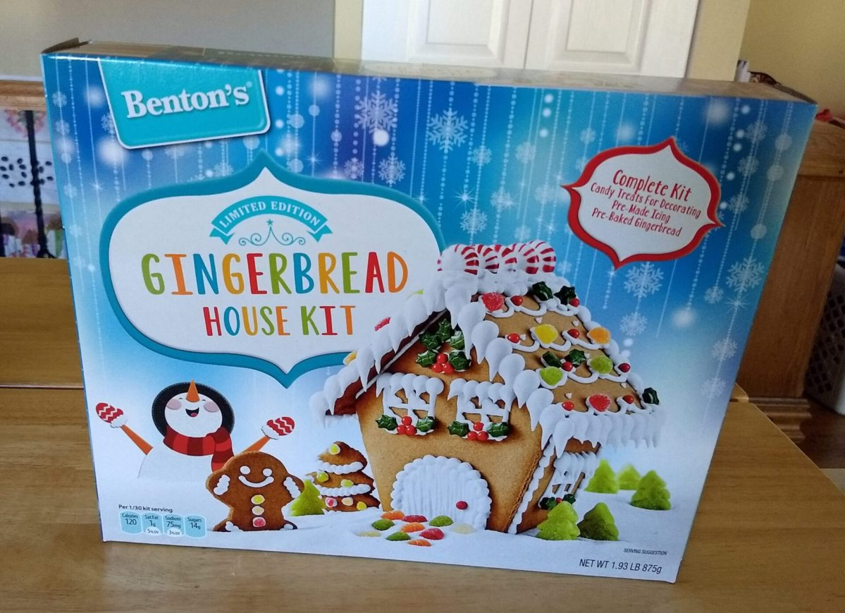 Benton's Gingerbread House Kit