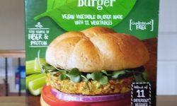 Earth Grown Vegan Veggie Burger