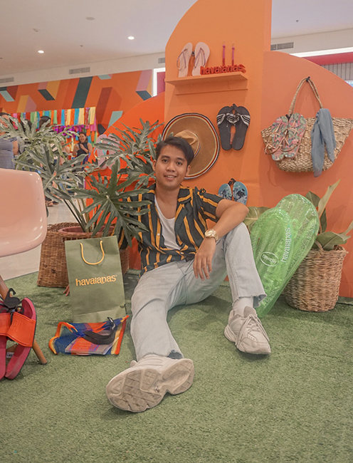 Let's Summer at Havaianas Store in Ayala Malls Central Bloc