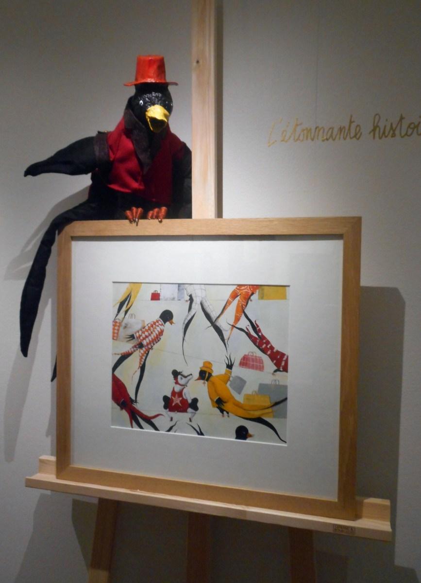 exposition Carll Cneut au Musée de l'Illustration Jeunesse de Moulins