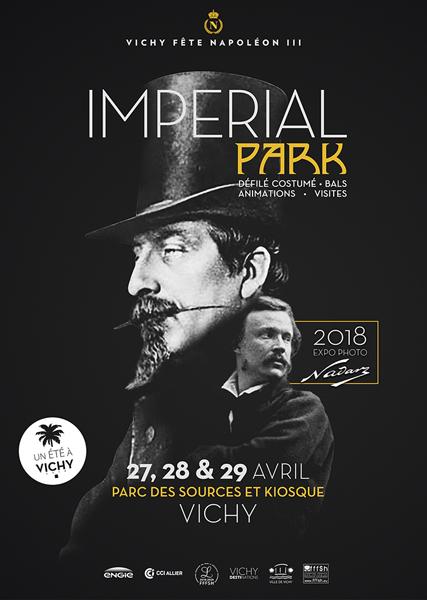 Affiche des Fêtes Napoléon III à Vichy en 2018