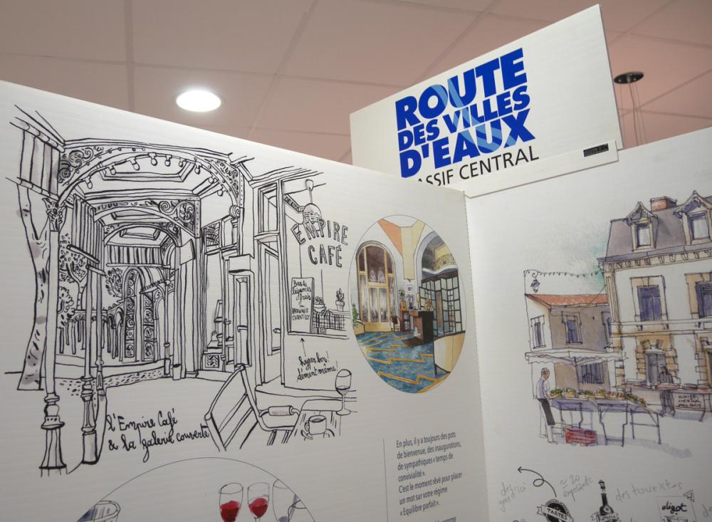 Expo Les acoros du peignoir à Vichy - 2018