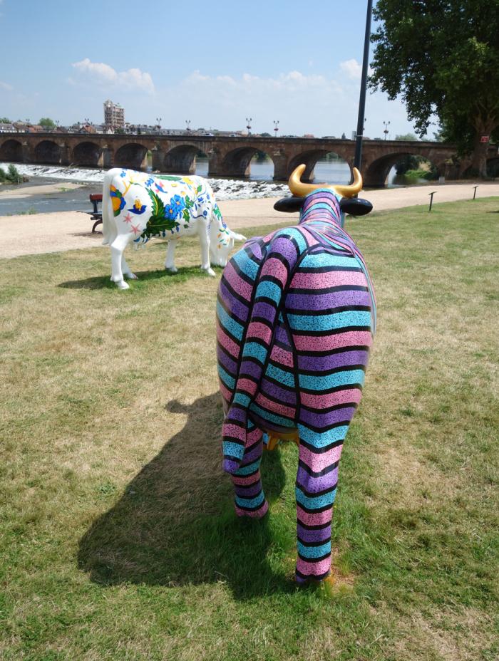 Cow Parade 2018 - Moulins