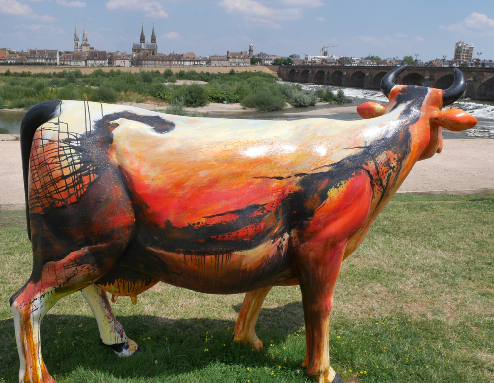 Cow Parade 2018 - Moulins