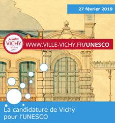 La candidature de Vichy pour l'UNESCO