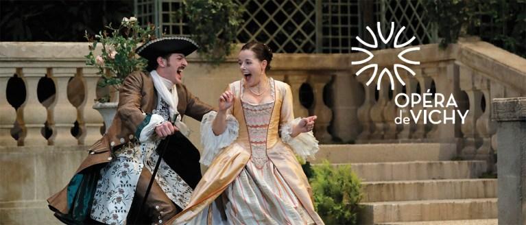 """""""Le jeu de l'amour et du hasard"""" à l'Opéra de Vichy"""