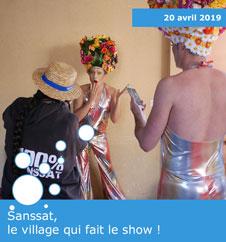 Sanssat, le village qui fait le show !