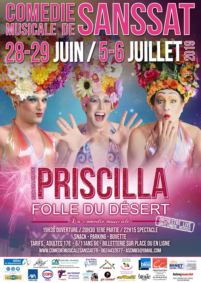 Sur un Air de Priscilla Folle du Désert - Sanssat - 2019