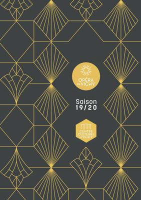 programme de la aison 2019/2020 de l'Opéra de Vichy