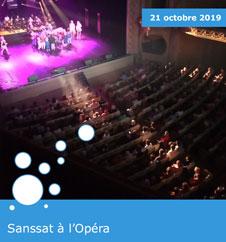Sanssat à l'Opéra