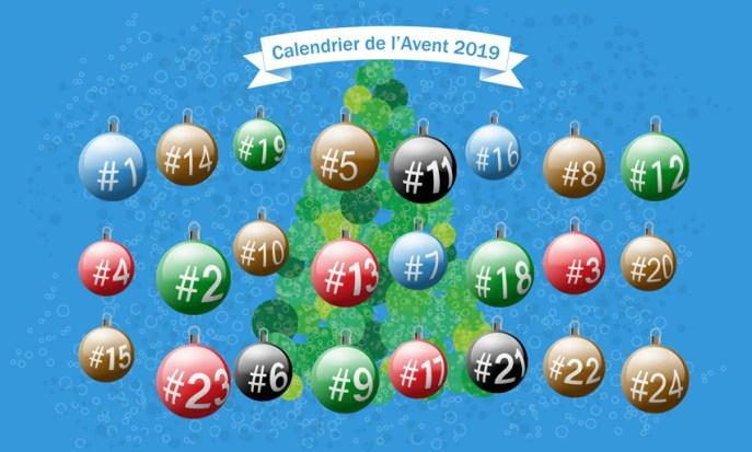 Le calendrier de Noël - A l'eau de Vichy