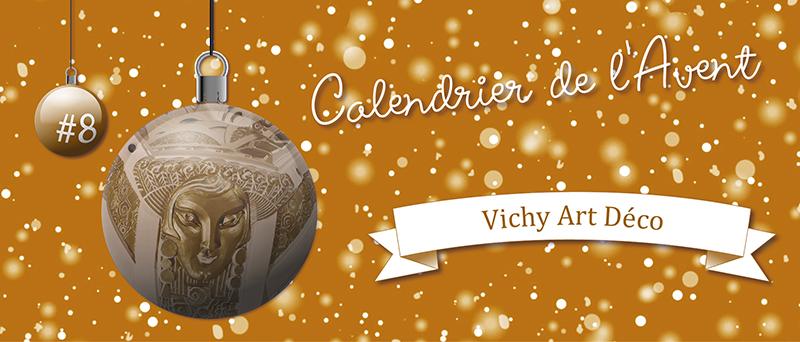 Calendrier de l'Avent : #8 Vichy Art Déco