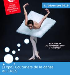 [Expo] Couturiers de la danse au CNCS