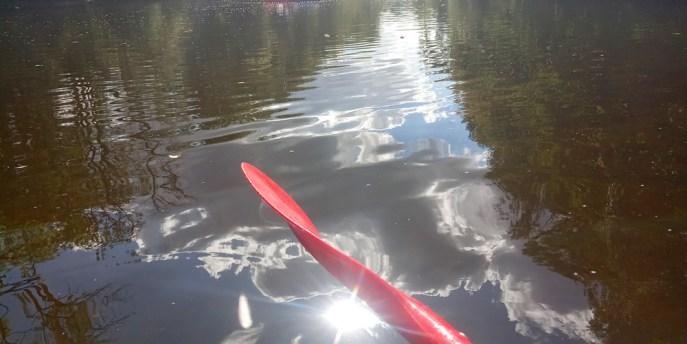 En canoë sur la Sioule