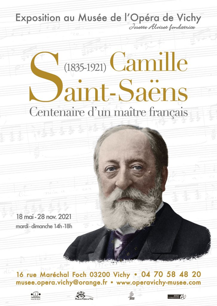 Expo Camille Saint-Saëns au Musée de l'Opéra de Vichy