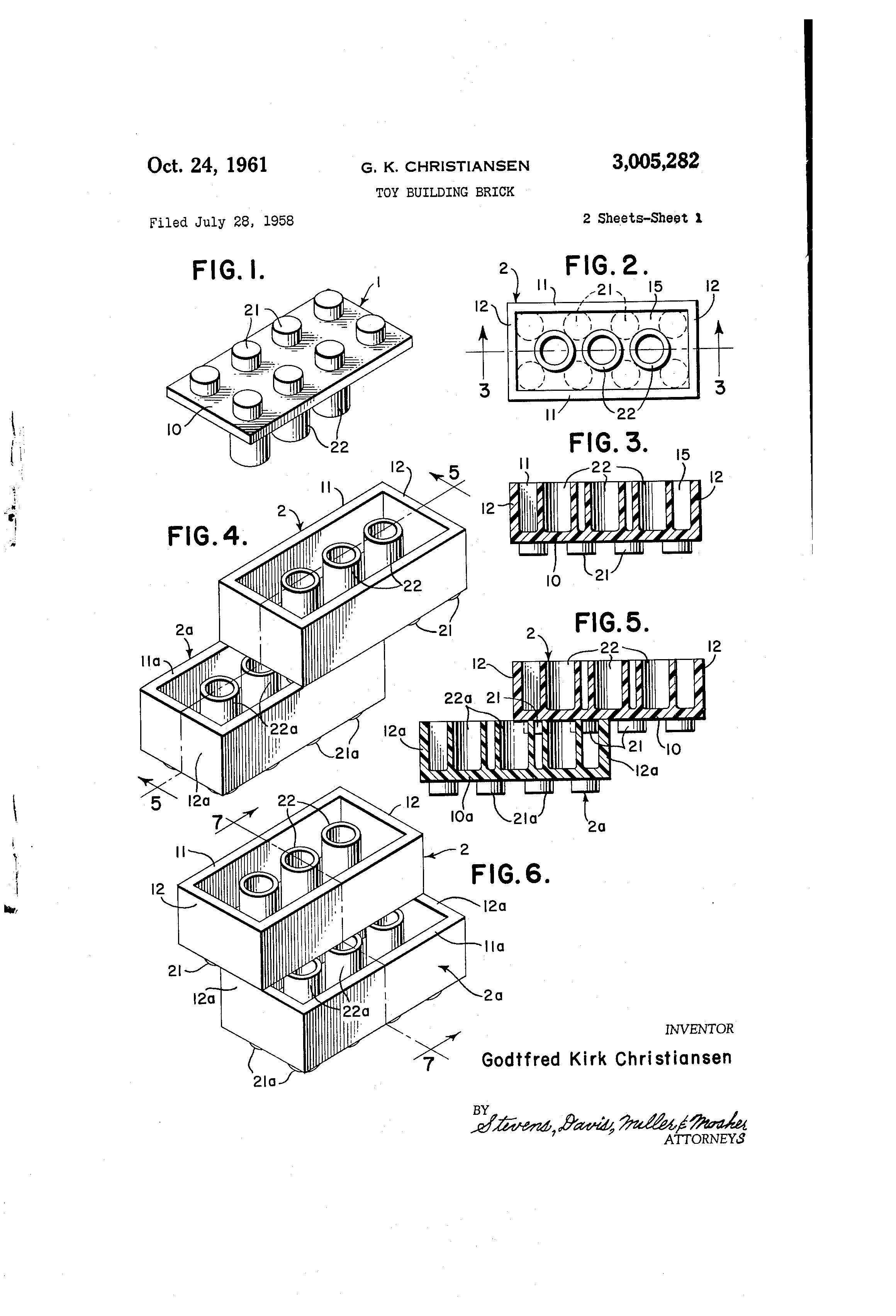 Feliz Cumpleanos A La Patente Del Ladrillo Lego