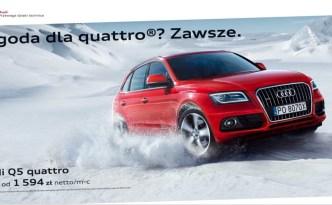 Pogoda dla Audi quattro