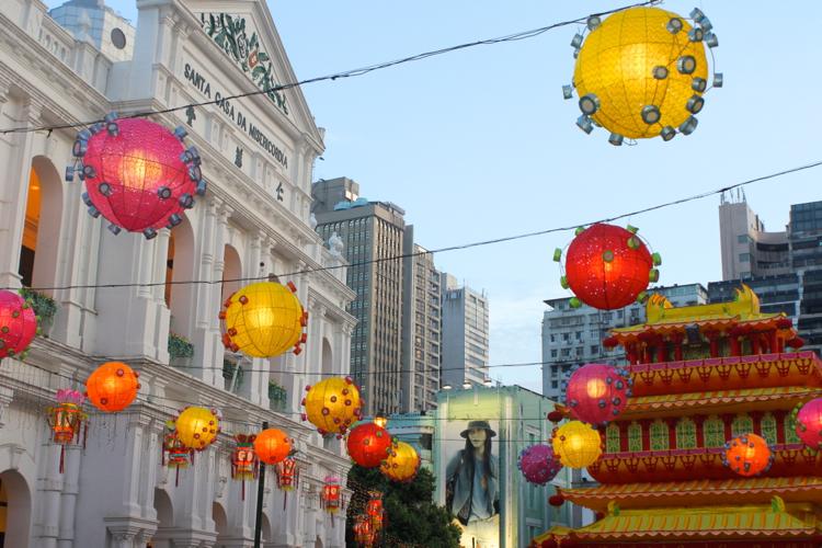 Lanterns Senatu Square Macau 3