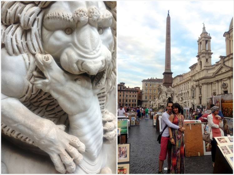 The Vatican Museums and Piazza Navona, Rome (July)