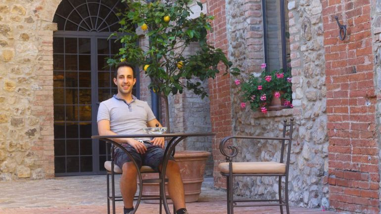 The Best Place to Stay in Tuscany: Castello Banfi il Borgo