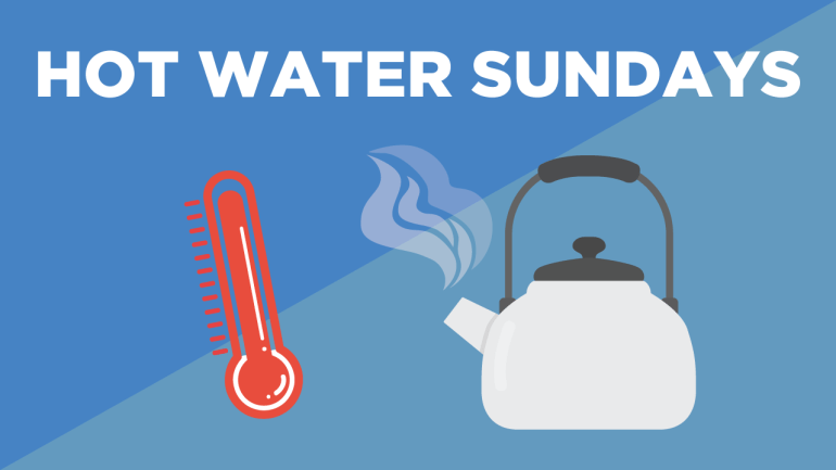 Hot Water Sundays: A Metaphor for Happiness