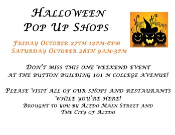 Pop-up Shop Event