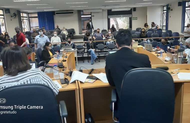 Vereadores participam de sessão presencial de implantação do Processo Legislativo Eletrônico