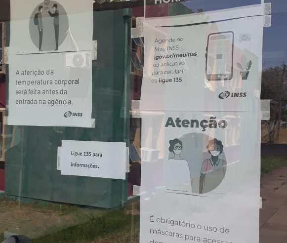 Agência do INSS de Alegrete voltou atender com agendamento