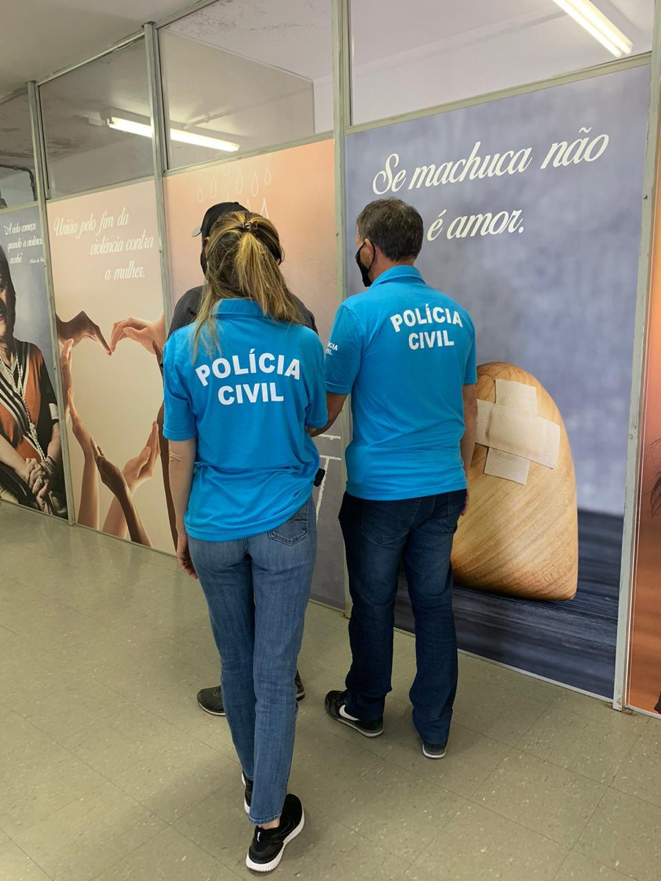 Polícia Civil prende agressor de violência doméstica e familiar