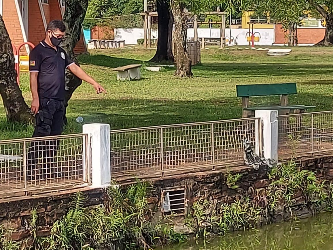 Laudo aponta a causa da morte do adolescente no lago do Parque dos Patinhos