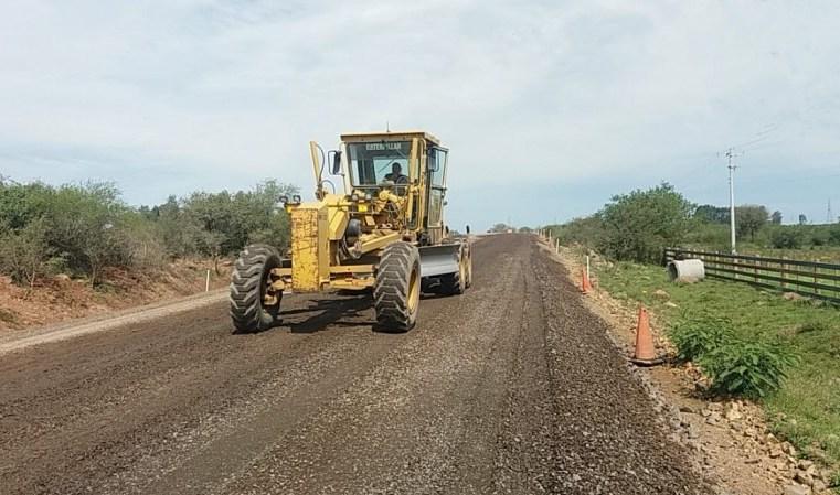 Pavimentação de mais um trecho da ERS-566 será concluída em dezembro