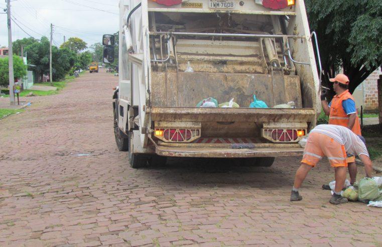 Coleta de lixo é normal nesse feriadão nos serviços da Prefeitura