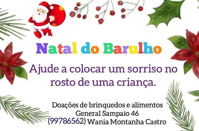 Natal Solidário vai fazer famílias e criancas felizes