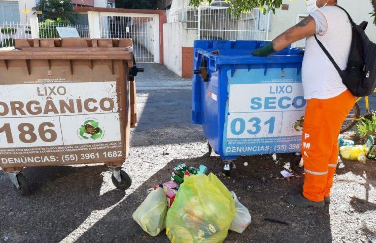 Ainda falta mais colaboração das pessoas em relação à coleta seletiva de lixo