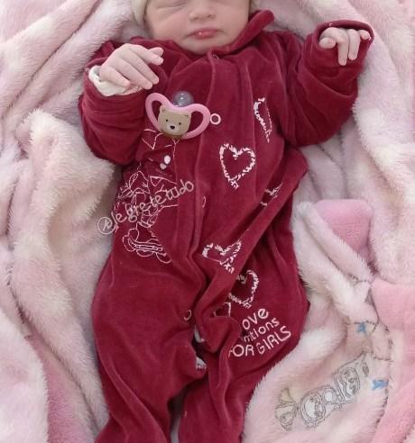 É uma menina o primeiro bebê de 2021 em Alegrete