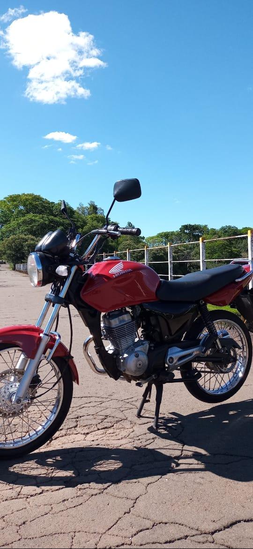 Moto furtada é encontrada em Alegrete