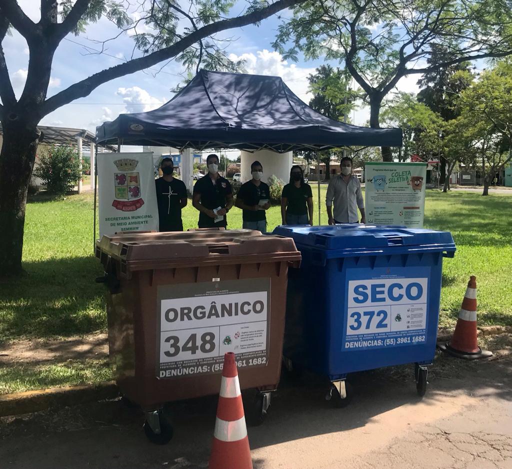 Drive Thru de recicláveis teve adesão de moradores e comerciantes da Zona Leste