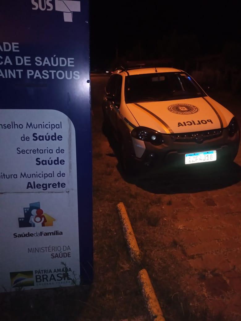 Tentativa de furto de vacina contra Covid-19 pode ter sido causa do arrombamento da ESF em Alegrete