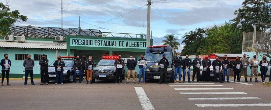 Sirenaço homenageou servidor da Susepe, morto por bandidos