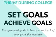 Semester Goal Setting Worksheet