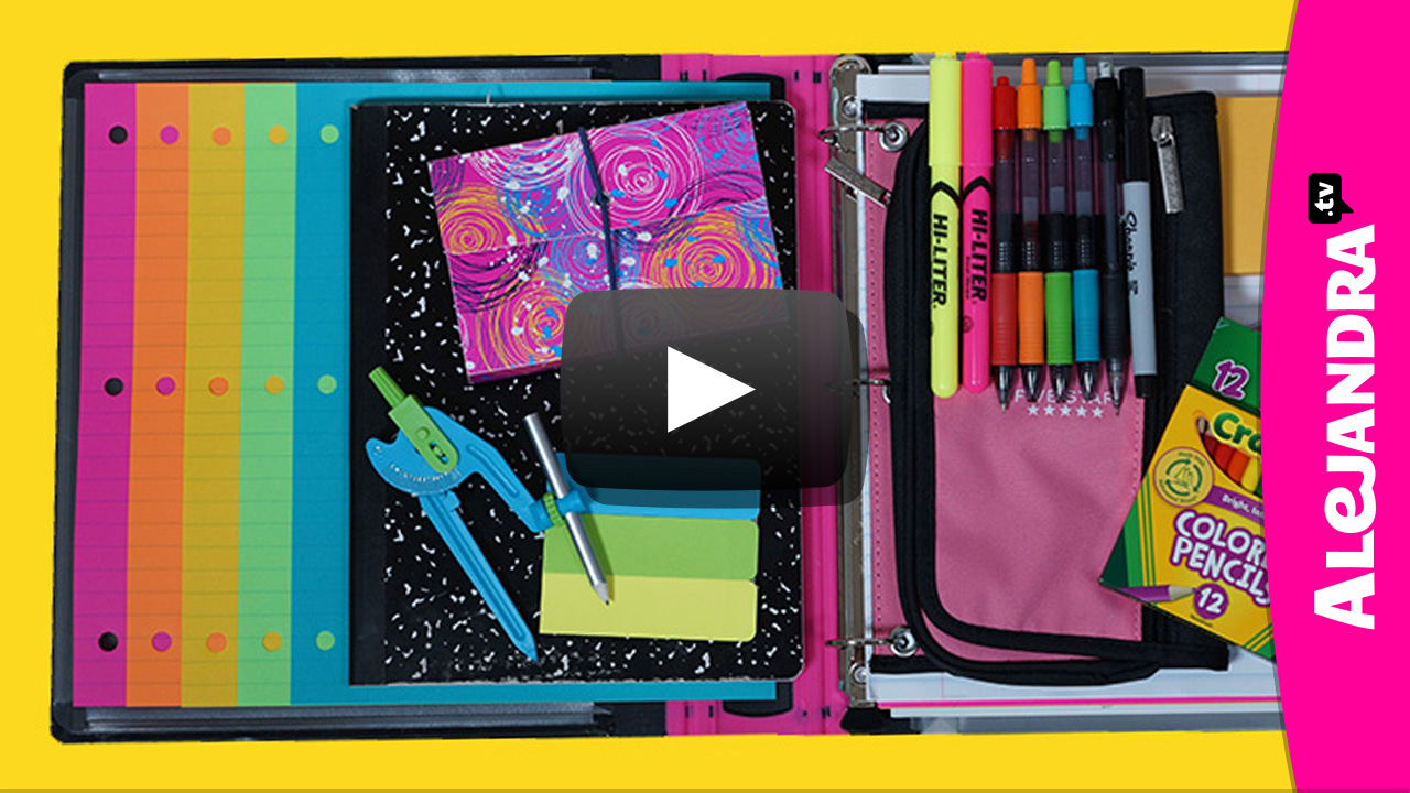 video back to school organization tips how to organize your binder notes