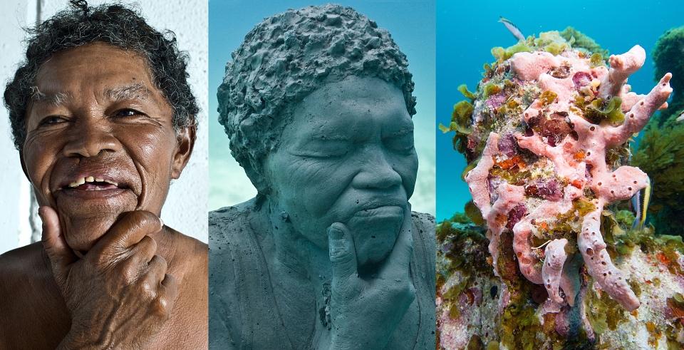 silent evolution 031 jason-decaires-taylor sculpture