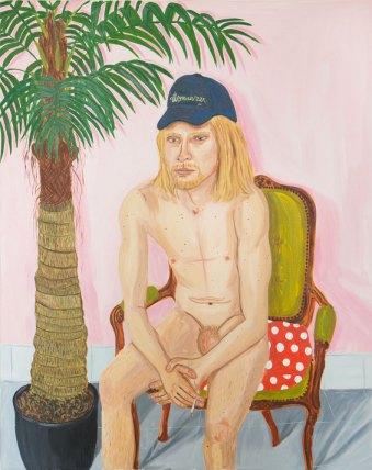 Bas, oil on canvas, 100 x 80 cm, 2016