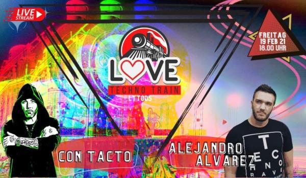 LOVE TECHNO TRAIN WITH CONTACTO & ALEJANDRO ALVAREZ