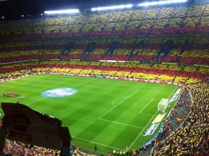 Camp Nou, mosaico